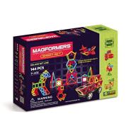 满¥399减¥299+额外9折!MAGFORMERS 麦格弗 磁力片智能套组益智儿童玩具 144片装