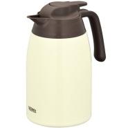【中亚Prime会员】THERMOS 膳魔师 不锈钢热水壶 奶油色 1.5升