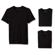 【中亚Prime会员】Tommy Hilfiger 男士纯棉V领短袖T恤3件装