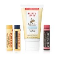 超值套装!【中亚Prime会员】Burt's Bees 小蜜蜂 Bag of Treats 护理4件套