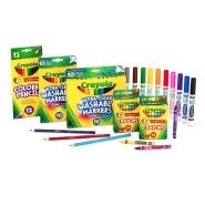 【中亚Prime会员】Crayola 绘儿乐 Back To School 绘画套装