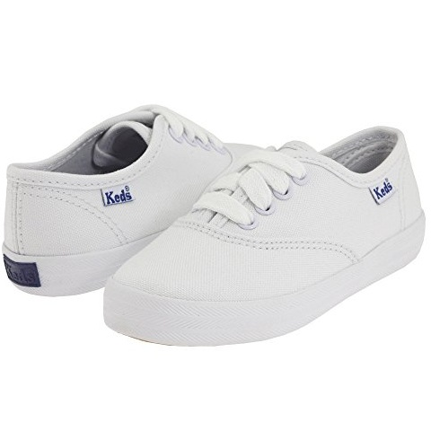 Keds Kids Original Champion CVO 童款白色帆布鞋