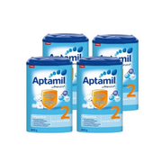 【免郵套裝】Aptamil 愛他美 2EP嬰兒奶粉 2段 800g*4盒