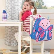 【中亚Prime会员】Skip Hop 可爱动物园小童背包 粉色蝴蝶