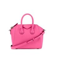 Givenchy 纪梵希 当红ITbag Antigona 小号羊皮手提包 粉色