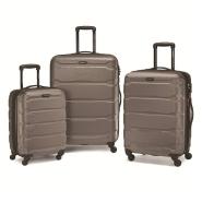 【中亚Prime会员】Samsonite 新秀丽 Omni PC 硬壳黑色行李箱拉杆箱3件套 20/24/28寸