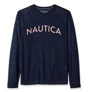 【美亚自营】Nautica 诺帝卡 男士长袖圆领T恤