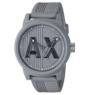 运动活力!【美亚自营】Armani Exchange 阿玛尼 AX1452 男士硅胶腕表