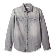 【美亚自营】Calvin Klein Jeans 男士纯棉水洗牛仔衬衫