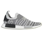 【且买且珍惜8折】Adidas Originals NMD R1 Primeknit 斑马纹理男士跑鞋