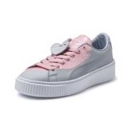 情人节限定款 PUMA 彪马 BASKET PLATFORM VALENTINE 女士运动鞋
