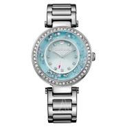 小仙女必备!Juicy Couture 橘滋 Cali 系列 1901330 水晶浮雕女士手表