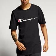 【美亚直邮】Champion 经典男士纯棉Jersey logo短袖T恤