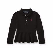 白菜!Ralph Lauren 拉夫劳伦 Long- Sleeve Peplum 2-6岁女童 POLO衫