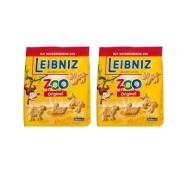 【立减5欧+免邮中国】Leibniz 小麦黄油动物儿童饼干 125g*2袋