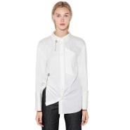小众设计师品牌 ACT N°1 18年新款露背设计感衬衣