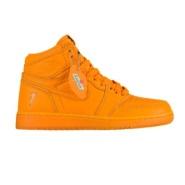 9折!佳得乐 x Air Jordan 1 Retro High OG 大童款板鞋 橙子味