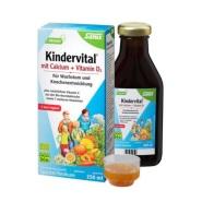 【免邮中国】Salus 儿童有机钙+维生素D3 复合维生素矿物质营养液 250ml