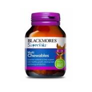 【立减3澳+免邮中国】Blackmores Superkids 儿童多元复合维生素咀嚼片 60片