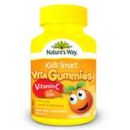 【女王节】Nature's Way 佳思敏 Kids Smart 儿童维生素C+锌软糖 60粒