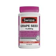 【4折+满150澳立减5澳】Swisse 葡萄籽抗氧化营养片 14,250mg 180片