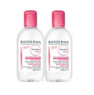 6折!Bioderma 贝德玛 粉色温和舒缓卸妆水 2*500ml