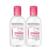 【可直郵中國】Bioderma 貝德瑪 粉色舒緩卸妝水 2*500ml