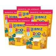 【立減8歐】Leibniz 萊布尼茲 小怪獸形狀黃油餅干 100g*5袋