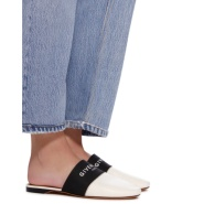 【女神节】超难买的爆款 GIVENCHY Bedford 标志印花松紧带皮革拖鞋