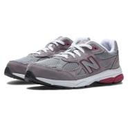 码全!New Balance 新百伦 990V3 大童款慢跑鞋 成人可穿
