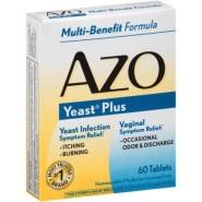 AZO Yeast Plus 妇科益生菌 60片
