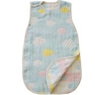 额外8折!【日本亚马逊】SANDESICA 柔软的6层纱安睡衣 L号