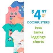 【Doorbuster's】Carter's 卡特美国官网:精选儿童T恤、背心、短裤、紧身裤等