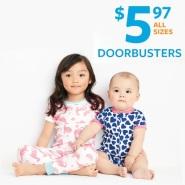 【Doorbusters】Carter's 卡特美国官网:精选限量版儿童睡衣