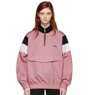 Ambush Pink Track Shirt Jacket 女款粉色上衣
