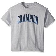 【中亚Prime会员】Champion 男式中性经典针织 Logo 图案 T恤