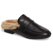 Steve Madden Kaden Mule 女款真皮穆勒鞋