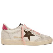 GOLDEN GOOSE DELUXE BRAND Dual Star low-top leather trainers 女款小脏鞋