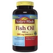 【中亚Prime会员】Nature Made 深海鱼油 1000mg 320粒