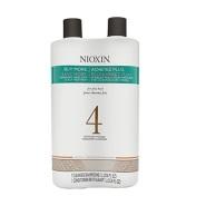 【中亚Prime会员】Nioxin 4号丰盈浓密洗护两件套(洗发水1L+护发素1L)