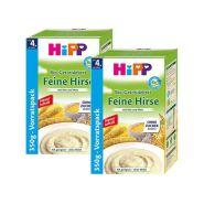 【立减5欧+免邮中国】Hipp 喜宝 有机免敏纯精细小米米粉 4个月+ 350g*2盒装