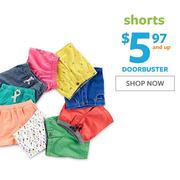 【Doorbusters】Carter's 卡特美國官網:精選兒童短褲