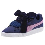 PUMA 彪马 Basket Heart 尼龙女子休闲运动鞋