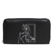 额外7折!!Givenchy 纪梵希 小鹿斑比印花长款拉链钱夹