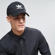 凑单3件免费直邮中国!adidas Originals 阿迪达斯 三叶草 男士棒球帽 BK7277