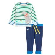 MINI BODEN Animal Appliqué Jersey T-Shirt & Pants Set T恤长裤套装