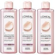 补货!【中亚Prime会员】L'Oréal Paris 巴黎欧莱雅 花朵精华柔肤水 400ml*3瓶