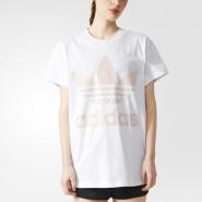 额外6折!adidas Originals 阿迪达斯 女士休闲运动T恤