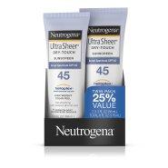 一只到手54元左右!【中亚Prime会员】Neutrogena 露得清 清透防晒乳 SPF45 88ml*2只装