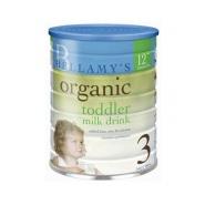 补货!Bellamy's 贝拉米有机婴儿配方奶粉 12个月+ 900g